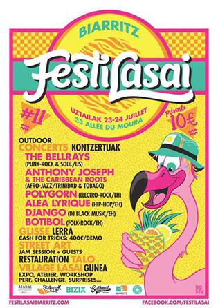 Festilasai-punck-musique-festival-Biarritz-Affiche