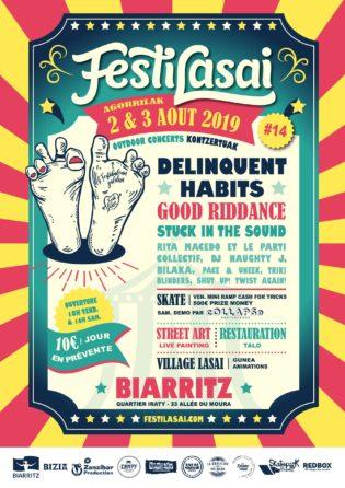 Festilasai-punk-musique-festival-Biarritz-Affiche